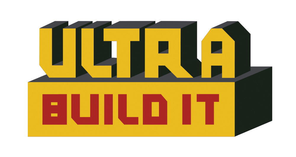 Ultra build it logo design uijungkim i was commissioned for a logo design for ultra build it a readers digest brand of do it yourself paper figures of popular brands solutioingenieria Images