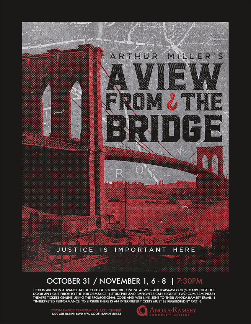 an interpretation of a view from the bridge a play by arthur miller Need help with act 1 in arthur miller's a view from the bridge check out our revolutionary side-by-side summary and analysis.