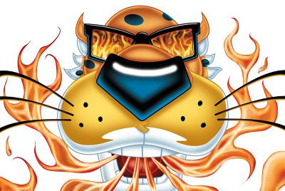 chester cheetah nathan beasley illustration design